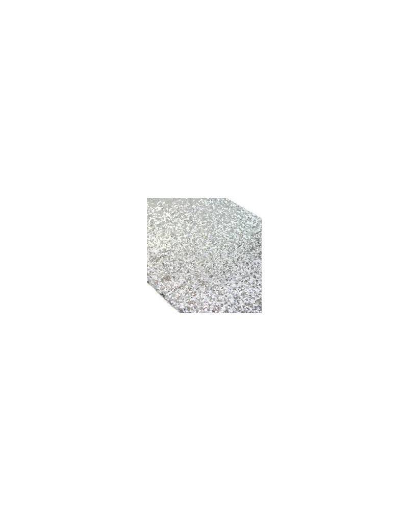 Silver Sequin Table Cloth 90x90 Square