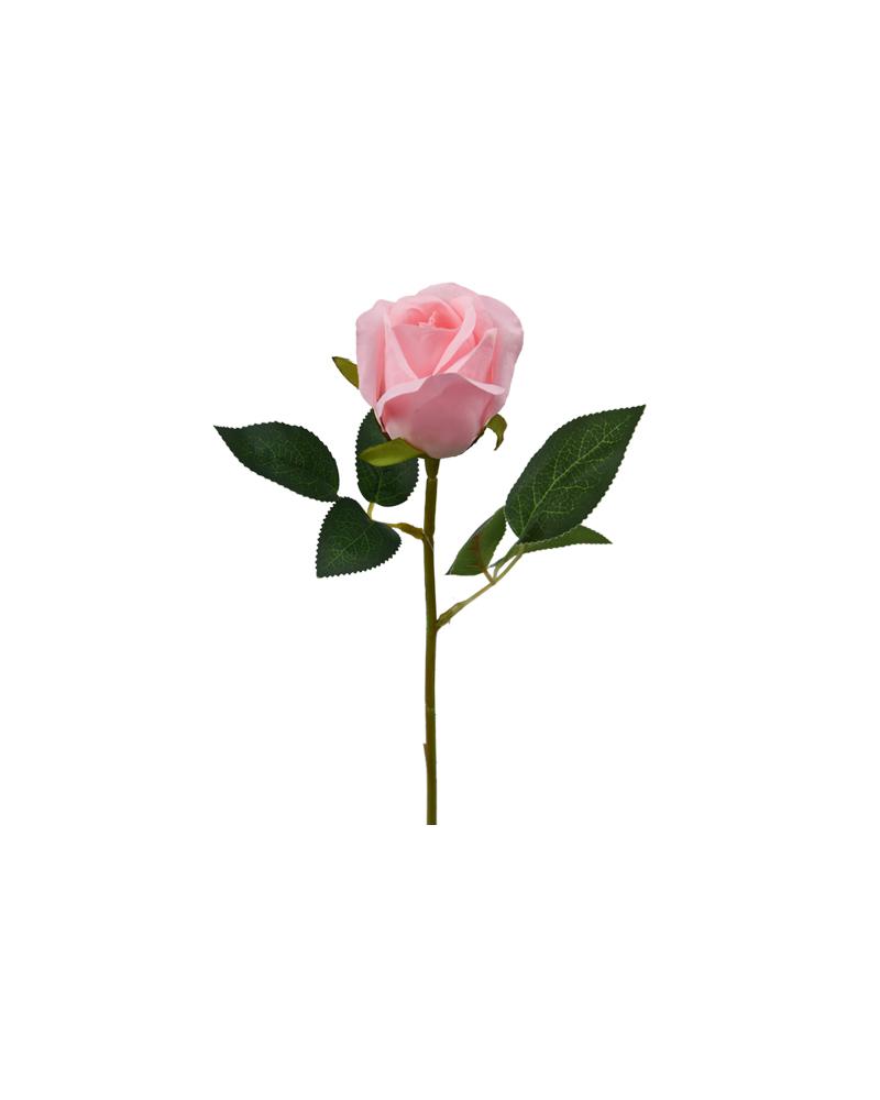 Pink Rosebud Small Stem (30cm)