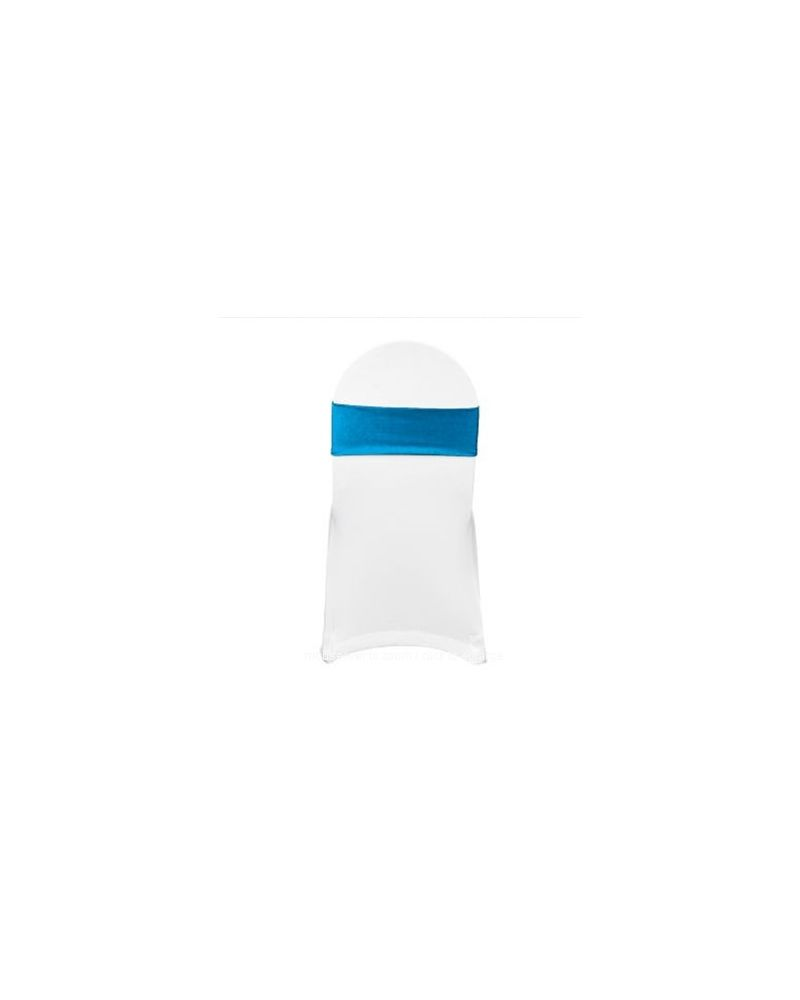 Turquoise Spandex Lycra Bands For Chair Covers